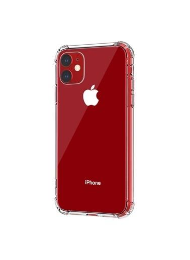 Microsonic Shock Absorbing Kılıf Apple iPhone 11 (6.1'') Şeffaf Renksiz